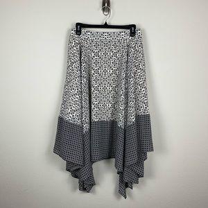 Banana Republic Handkerchief Skirt Mosaic 4 #CC3